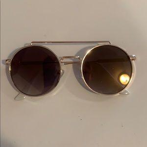 Steve Madden White Sunglasses